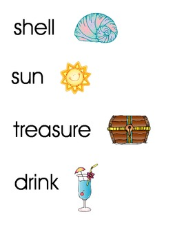 Caribbean Words/Pictures