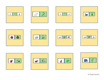 Cariboo: AAC UNITY 60 Sequenced Companion, VERBS