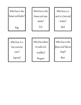 Cariboo Animal Guessing Game