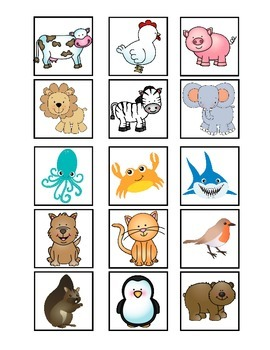 Cariboo Animal Guessing Game