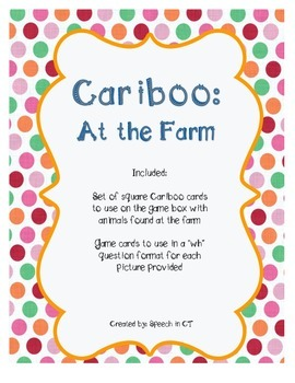 Cariboo At The Farm
