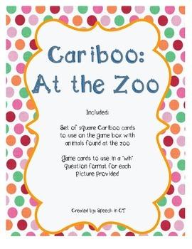 Cariboo At The Zoo