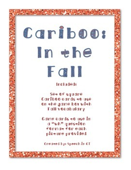 Cariboo Bundle: Fall, Halloween, Back at School