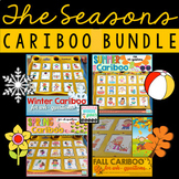 Cariboo Bundle for Language Therapy {Seasons}