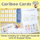 Cariboo Cards: Themed Vocabulary for a Whole Year!