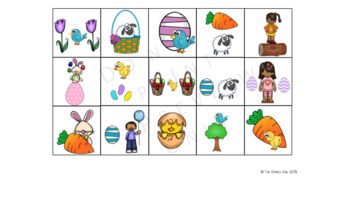 Cariboo Cards - Spatial Concepts - Easter