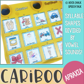 Apraxia Cards for Cariboo