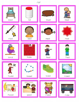 Cariboo Cards for Final Consonant Deletion