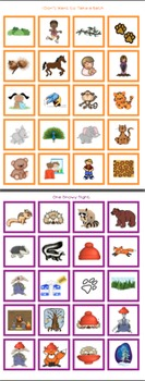 Cariboo Cards for My Storybook Companions: Set #2