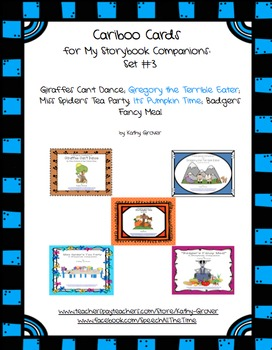 Cariboo Cards for My Storybook Companions: Set #3
