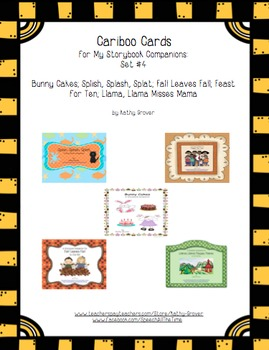 Cariboo Cards for My Storybook Companions: Set #4