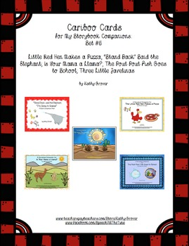 Cariboo Cards for My Storybook Companions: Set #5