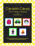 Cariboo Cards for /r/ and /r/ blends