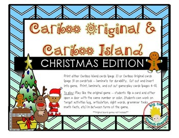 Cariboo & Cariboo Island for Christmas: A Cranium Game Add-On