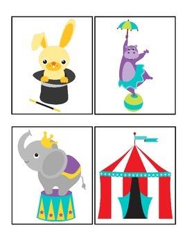 Cariboo Circus Animal Matching