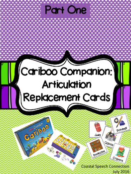 Cariboo Companion: Articulation Replacement Cards