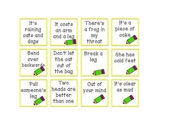 Cariboo Companion: Idioms