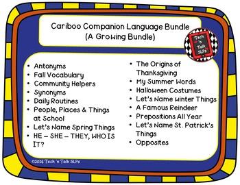 Cariboo Companion Language Bundle - A Growing Bundle