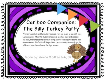 Cariboo Companion: The Silly Turkey Party