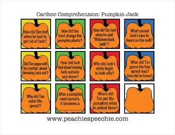 Cariboo Comprehension: Pumpkin Jack