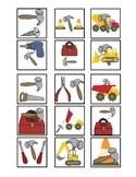 Cariboo Construction Prepositions - Houghton Mifflin Preschool Theme