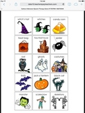 Cariboo Halloween Speech Therapy Game