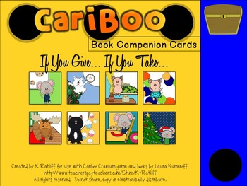 Cariboo:  If You Give... If You Take... Book Companion Cards