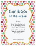 Cariboo In The Ocean