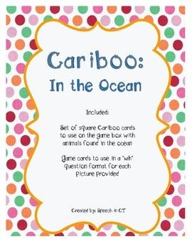 Cariboo In The Ocean