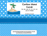 Cariboo Island Cards for /k/, /g/, /f/, /v/, /s/, /z/ and /s/ blends