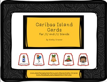 Cariboo Island Cards for /l/ and /l/ Blends
