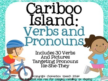 Cariboo Island: Verbs and Pronouns! *UPDATED*