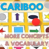 Cariboo: More Categories and Vocabulary (English or Spanish)