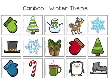 Cariboo Seasonal Cards Freebie