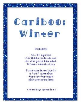 Cariboo Seasons: In the Winter