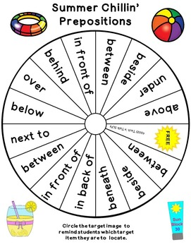 Cariboo Spin & Match - Prepositions All Year 'Round