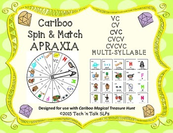 Cariboo Spin & Match for APRAXIA