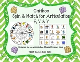 Cariboo Spin & Match for Articulation F, V & Y