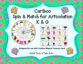 Cariboo Spin & Match for Articulation K G