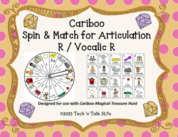 Cariboo Spin & Match for Articulation R / Vocalic R