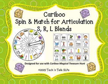 Cariboo Spin & Match for Articulation S, R, L Blends