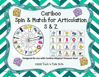 Cariboo Spin & Match for Articulation S & Z