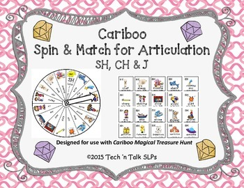 Cariboo Spin & Match for Articulation Sh, CH & J