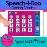 Cariboo Style - Speech-i-Doo Interactive Boom Card Game: Spring Verbs