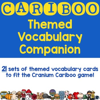 Cariboo Theme-Based Vocabulary Cards