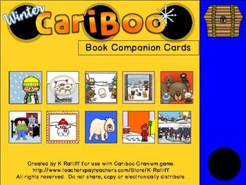 Cariboo:  Winter Book Companion Cards