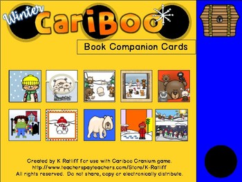 Cariboo:  Winter Book Companion Cards