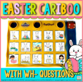 Cariboo for Easter for WH-questions & language therapy