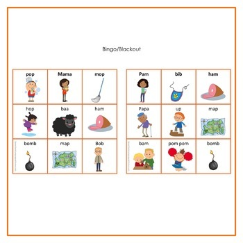 Cariboo games for Motor Speech Freebie