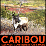 Caribou Informational Article, QR Codes & Fact Sort